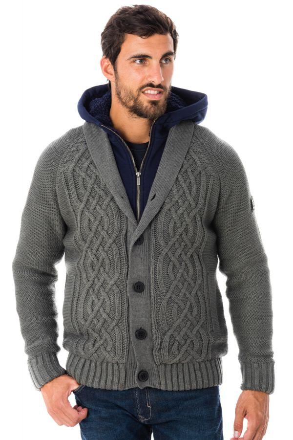 Pull/Sweatshirt Homme Kaporal NEROM GREY MELANGED