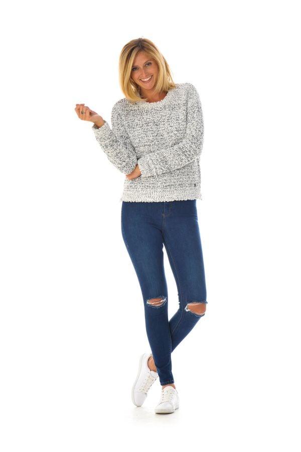 Pull/Sweatshirt Femme Kaporal CARLO OFF WHITE H16