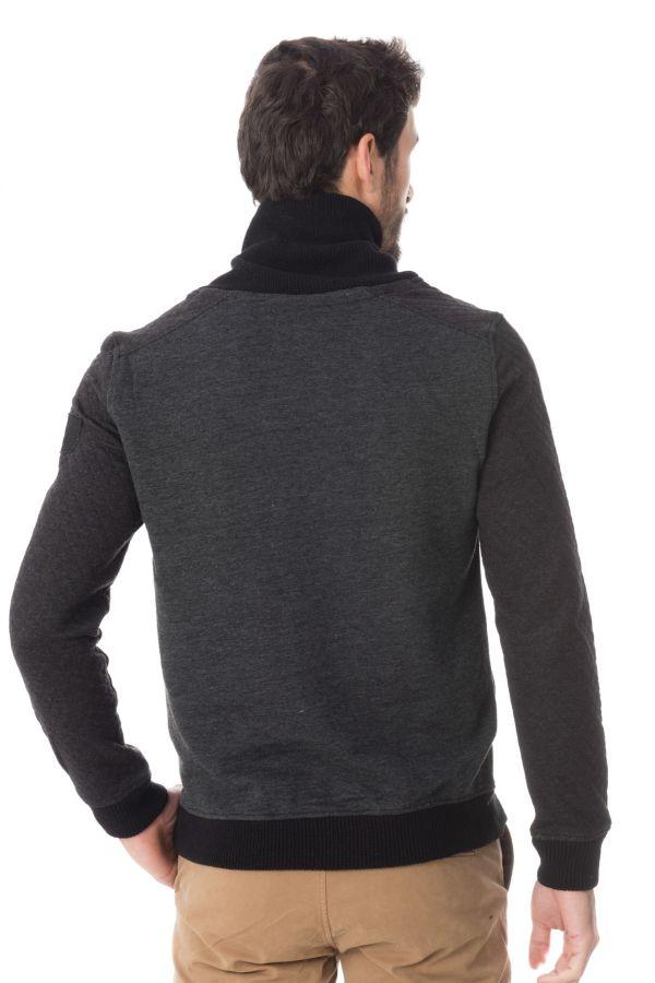 Pull/Sweatshirt Homme Kaporal BRAX H16 DARK GREY MEL