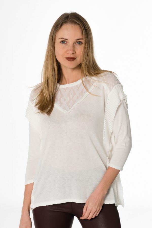 Pull/sweatshirt Femme Kaporal BULKY OFF WHITE