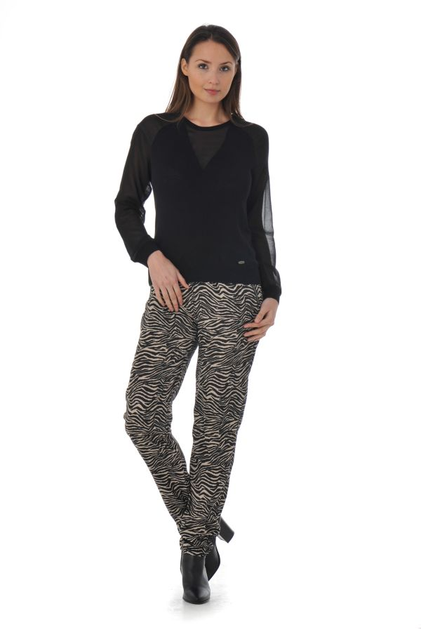 Pull/Sweatshirt Femme Kaporal NACRE BLACK P16