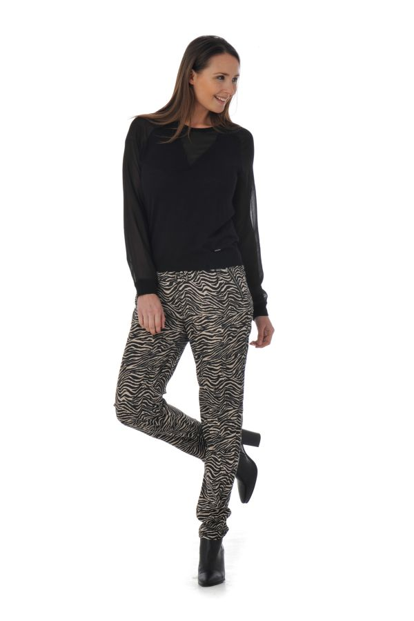 Pull/sweatshirt Femme Kaporal NACRE BLACK