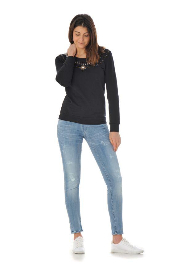 Pull/Sweatshirt Femme Kaporal LOLLY BLACK P16