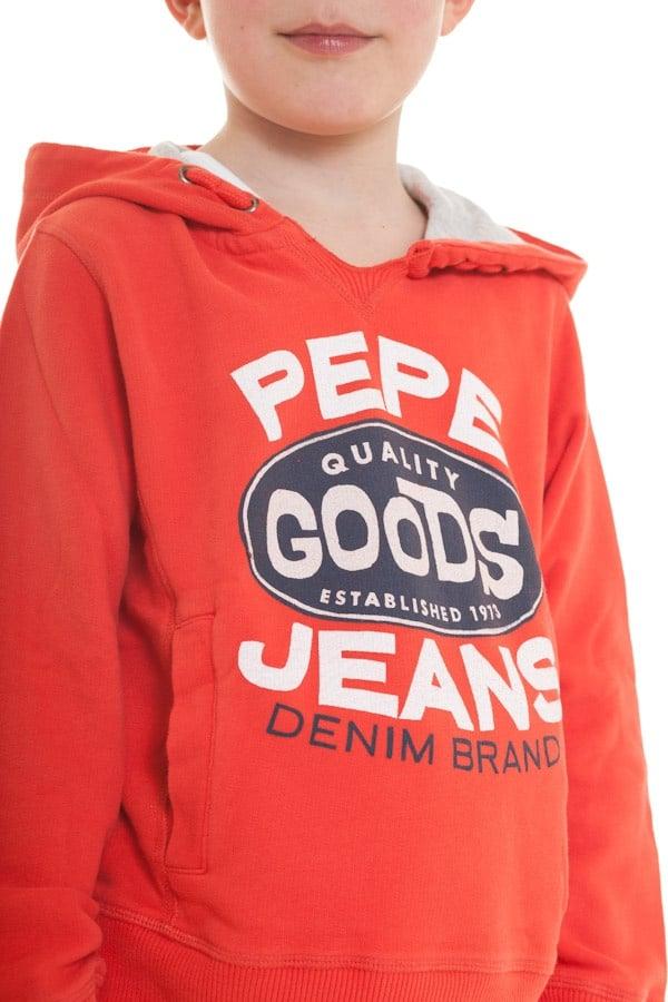 Pull/sweatshirt Enfant Pepe Jeans OMAR 1 RED