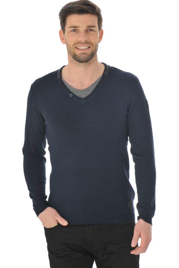 Pull/sweatshirt Homme Redskins DARRIUS ELVIS NAVY DARK