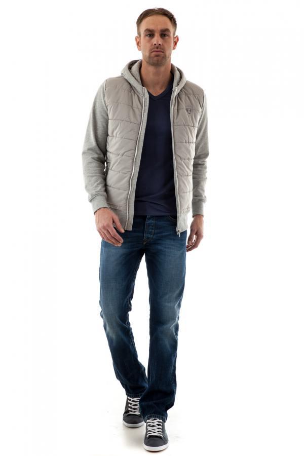 Pull/Sweatshirt Homme Redskins RILEY OKLAHOMA GRIS CHINE