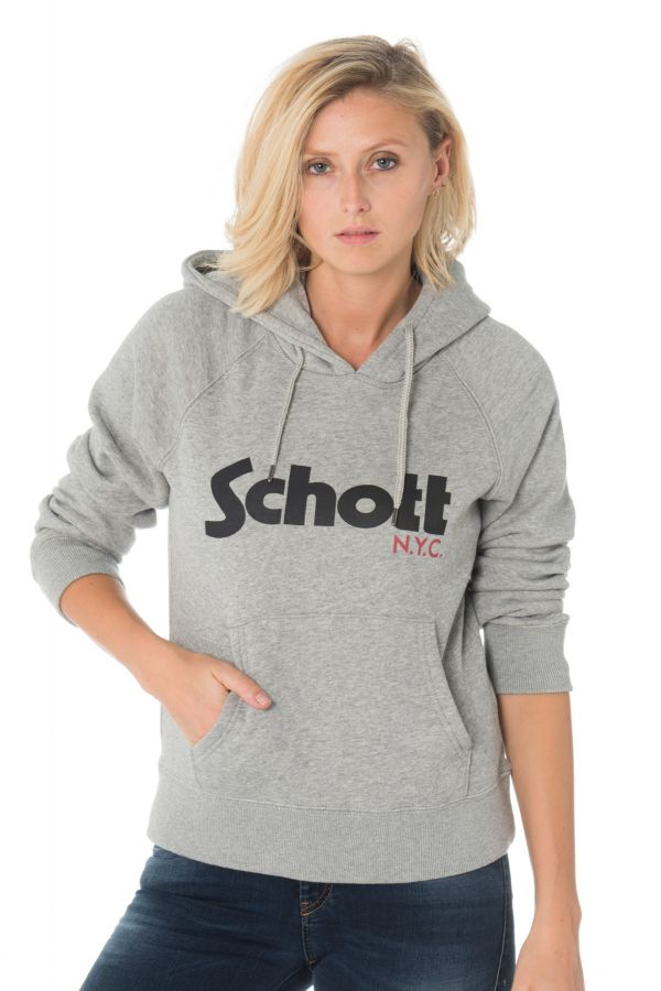 Pull/sweatshirt Femme Schott SWGINGER2W HEAT. GREY
