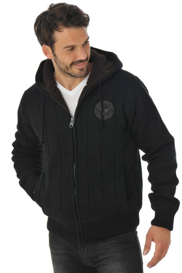 Pull/sweatshirt Homme Schott PL DUNLIN2 NOIR