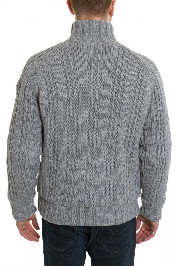 Pull/Sweatshirt Homme Schott PLKEYSTONE1 HEATHER GREY