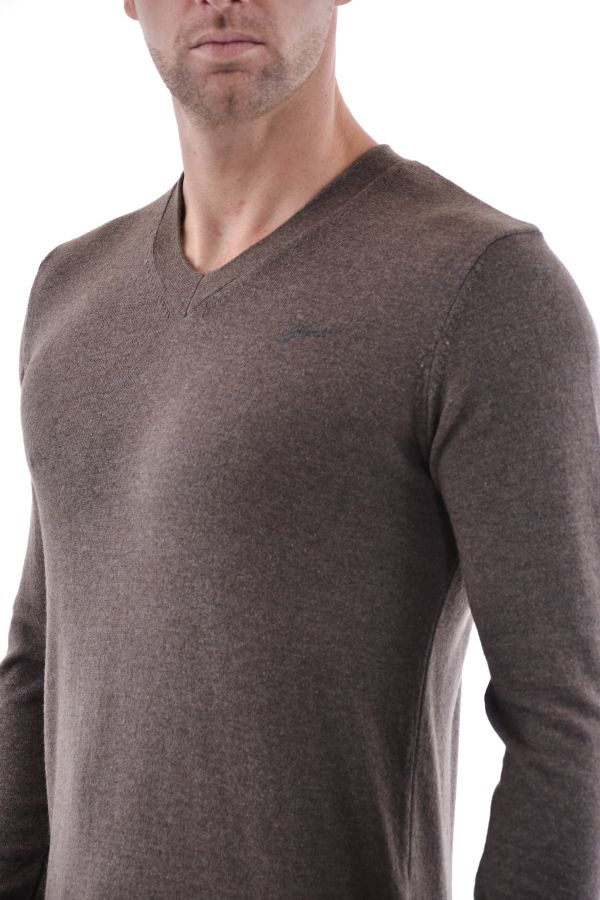 Pull/Sweatshirt Homme Schott PLPACK PULL TAUPE