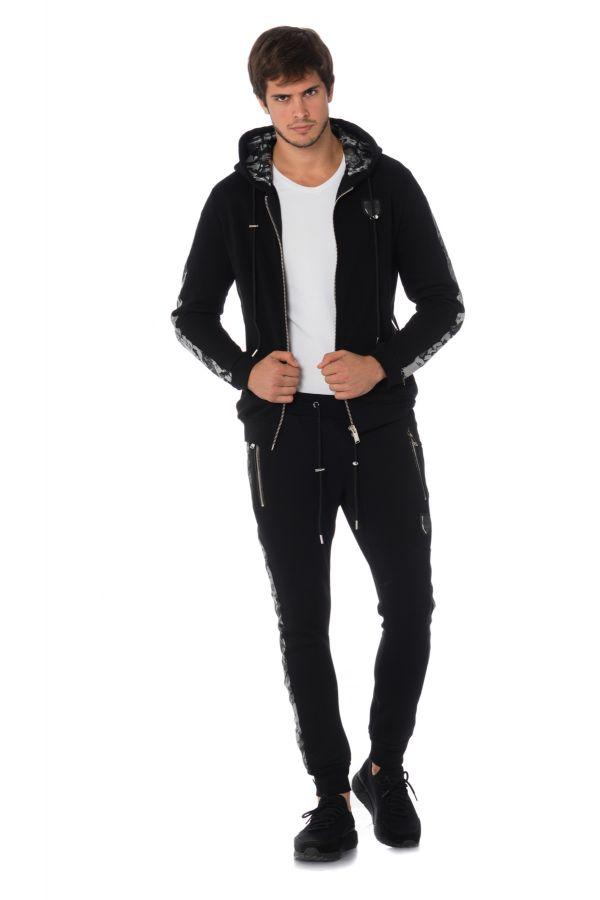 Pull/sweatshirt Homme Horspist OXFORD BLACK/SILVER