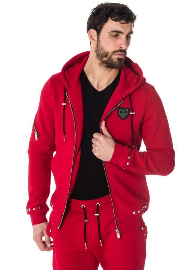 PullSweatshirt Homme horspist JARRY M300 RED