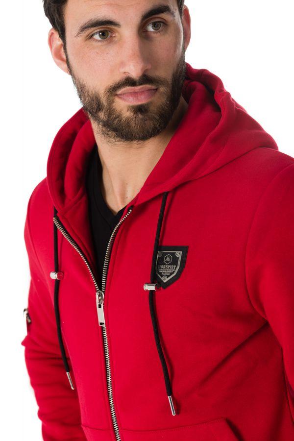 Pull/sweatshirt Homme Horspist JARRY M300 RED