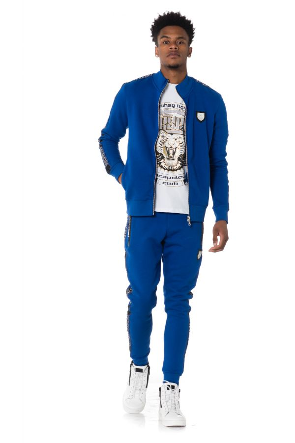 Pull/Sweatshirt Homme horspist WILLIS M300 BLUE ROYAL