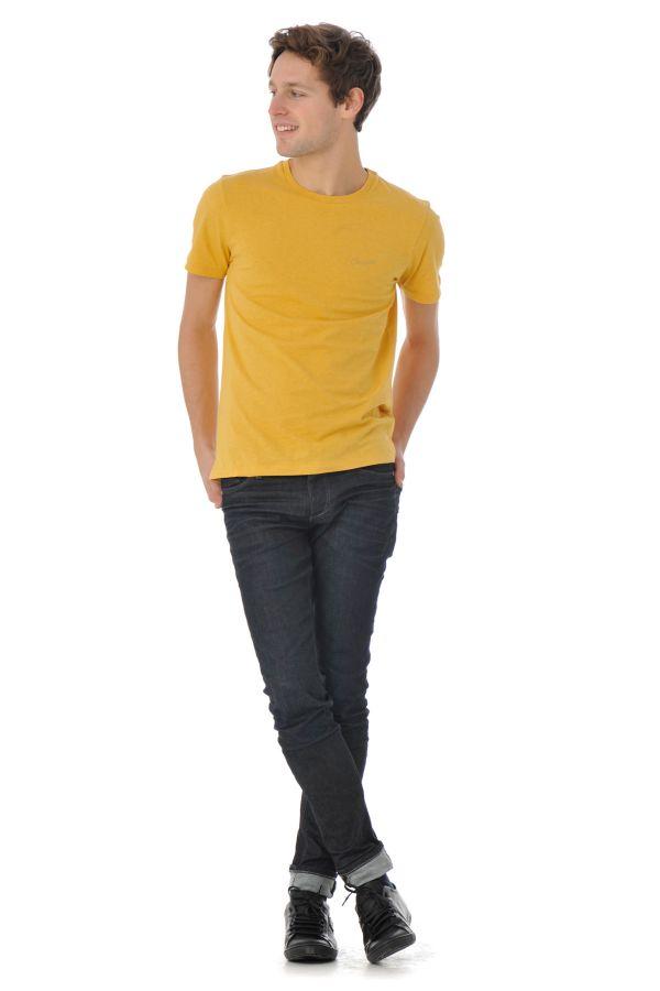 Tee Shirt Homme Chevignon BECTC002 JAUNE CHINE