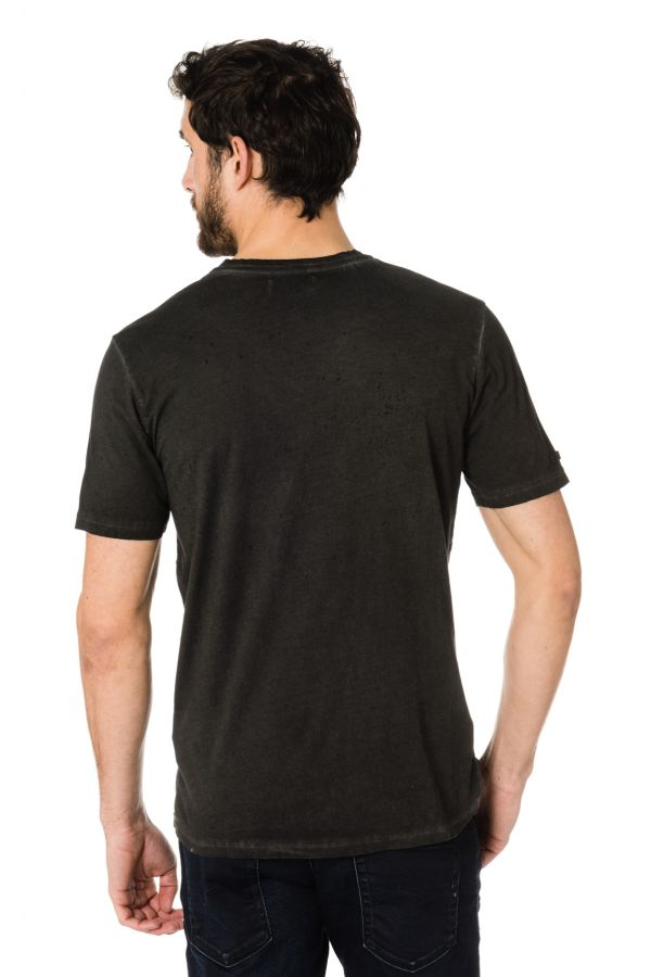 Tee Shirt Homme Kaporal DAN BLACK H17