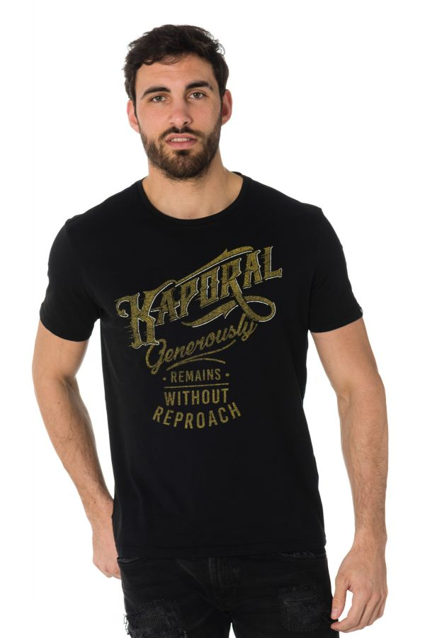 Tee Shirt Homme Kaporal TANJA BLACK