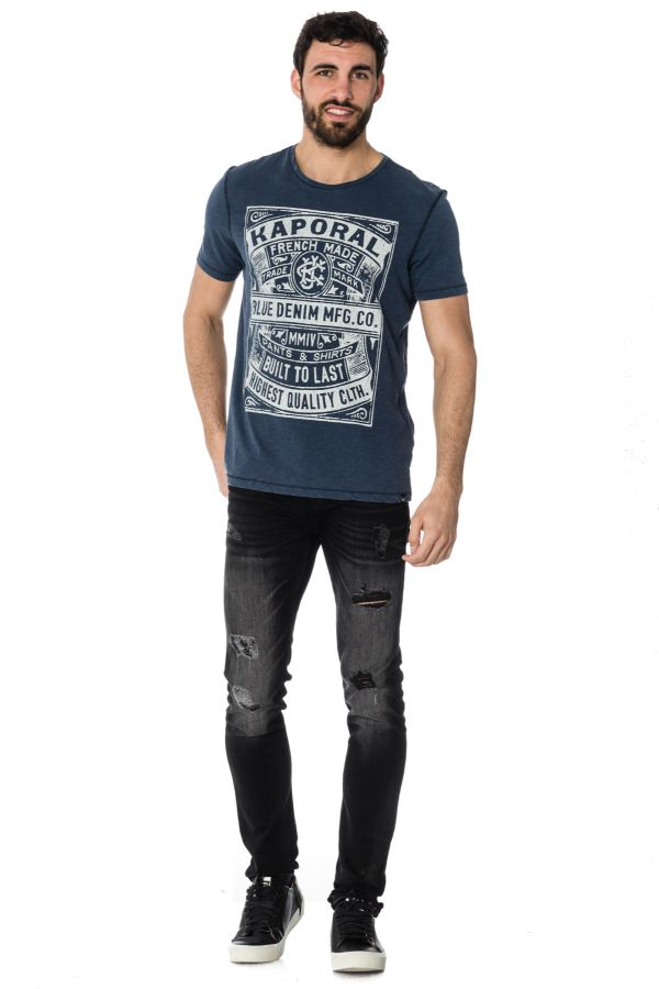 Tee Shirt Homme Kaporal LORIS BLUE US
