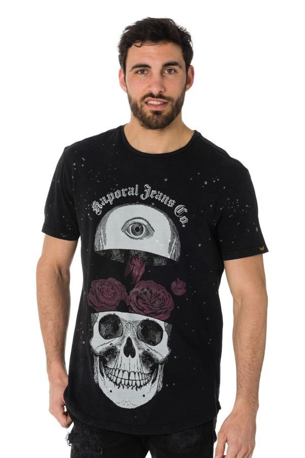 Tee Shirt Homme Kaporal MARCO BLACK