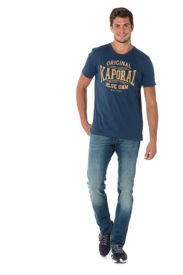 Tee Shirt Homme Kaporal BRISK BLUE US