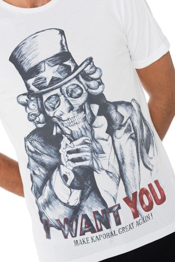Tee Shirt Homme Kaporal SAMY WHITE