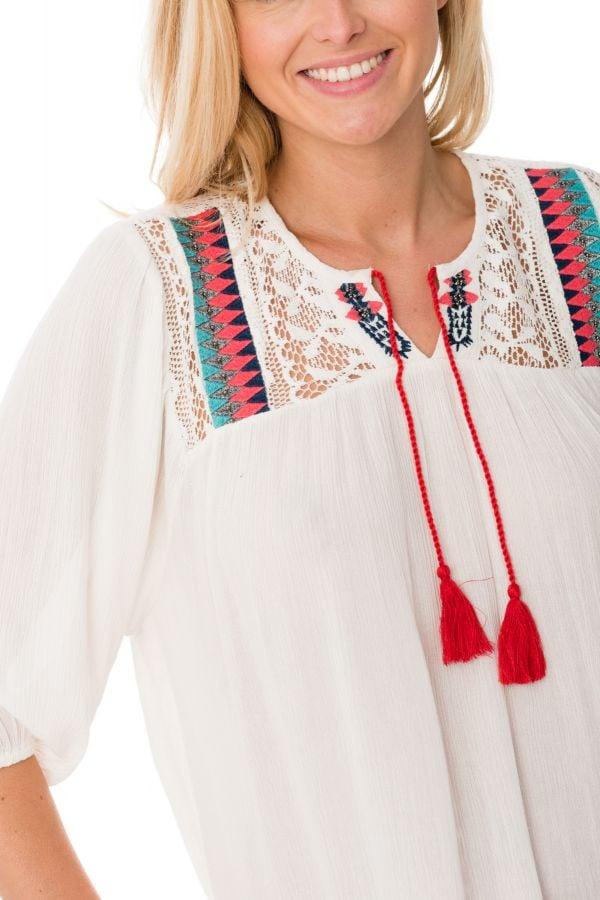 Tee Shirt Femme Kaporal FLYNN OFF WHITE