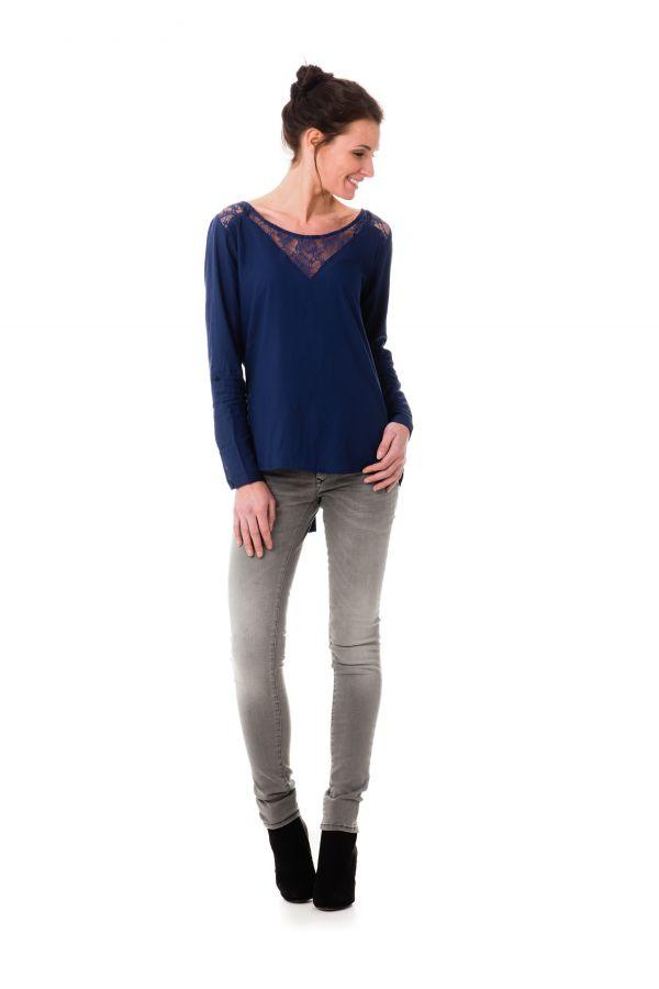 Tee Shirt Femme Kaporal ALBAN MARINE P17
