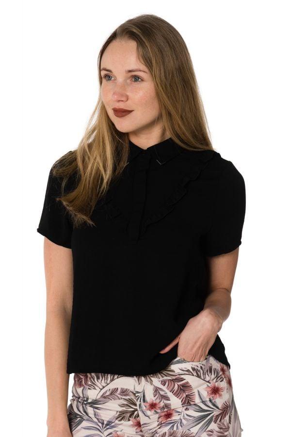 Tee Shirt Femme Kaporal FISTA BLACK
