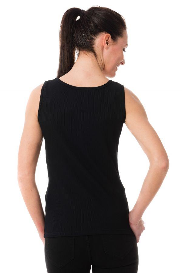 Tee Shirt Femme Kaporal FIZZ BLACK P17