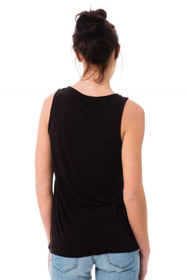 Tee Shirt Femme Kaporal FONKY BLACK P17