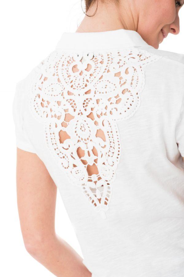Tee Shirt Femme Kaporal FURI WHITE