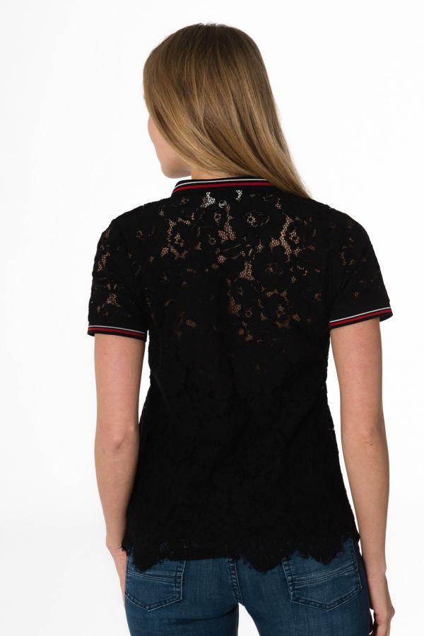 Tee Shirt Femme Kaporal BRIKS BLACK