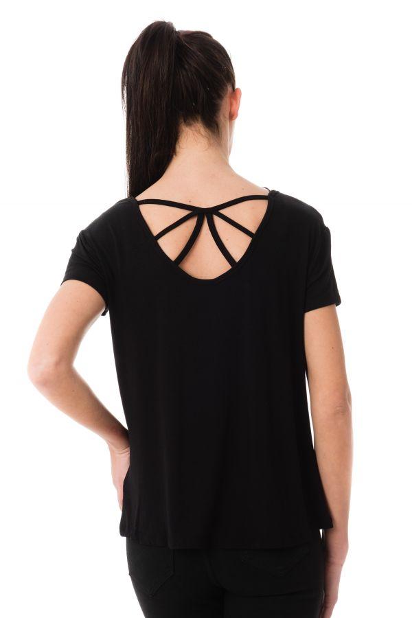 Tee Shirt Femme Kaporal NIZA BLACK