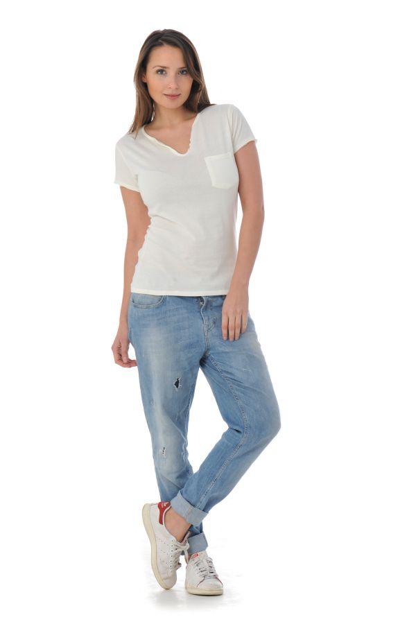 Tee Shirt Femme Kaporal NUCK MILK P16