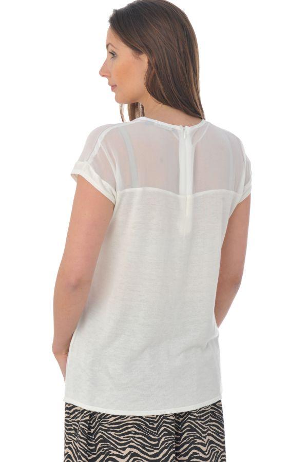 Tee Shirt Femme Kaporal ROY OFF WHITE P16