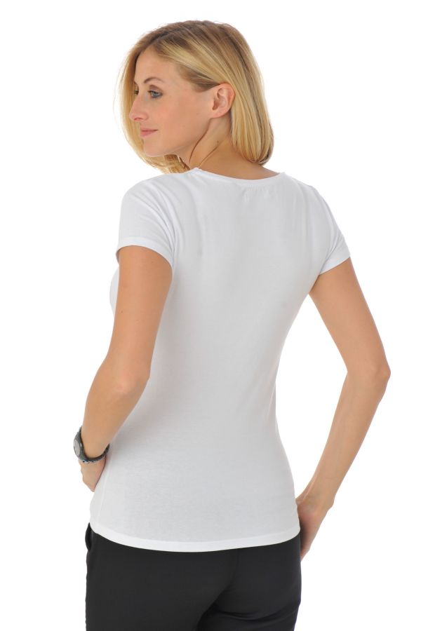 Tee Shirt Femme Kaporal COBAL OPTICAL WHITE H16