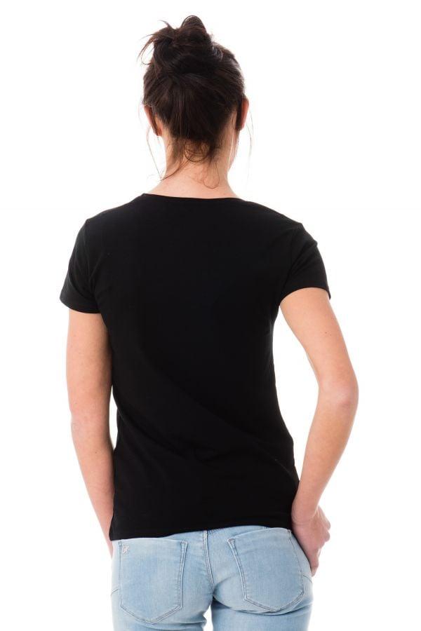 Tee Shirt Femme Kaporal ABEL BLACK P17
