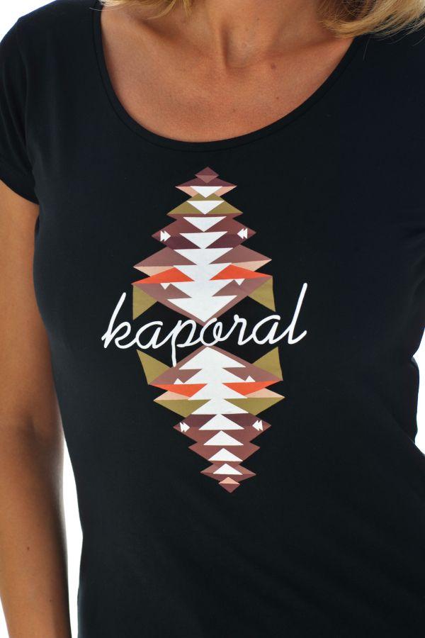 Tee Shirt Femme Kaporal TRAX BLACK H16