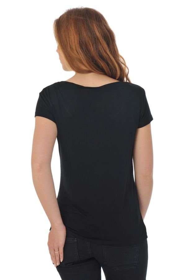 Tee Shirt Femme Kaporal TIREX H16 BLACK