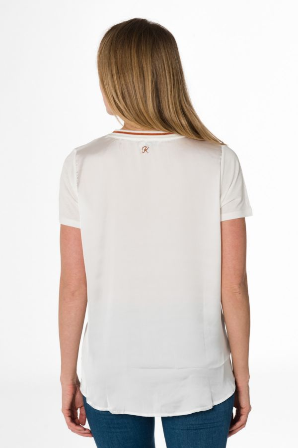 Tee Shirt Femme Kaporal BETTY OFF WHITE