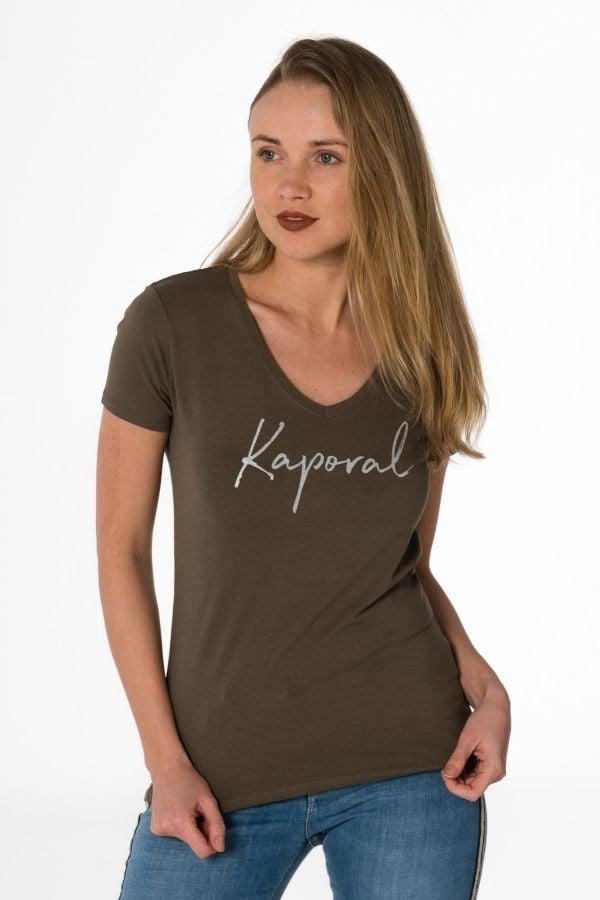Tee Shirt Femme Kaporal BUXOM TREILLIS