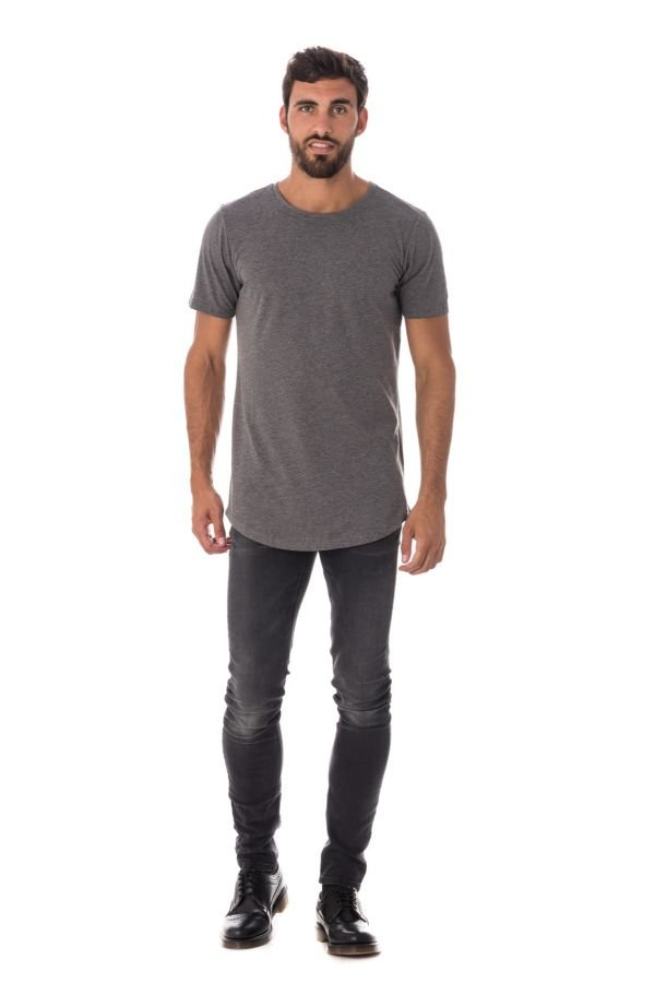 Tee Shirt Homme Kaporal DODU DARK GREY MELANGED