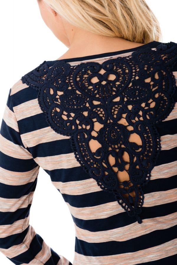 Tee Shirt Femme Kaporal FAREL MARINE