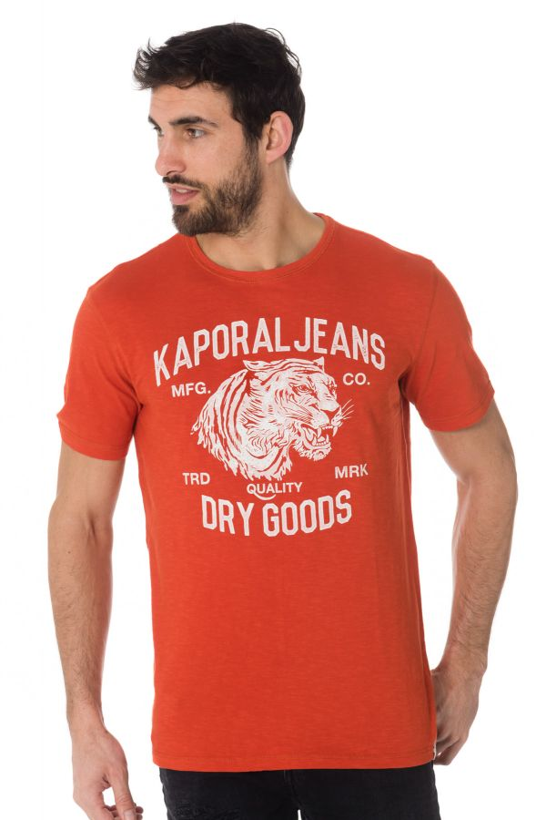 Tee Shirt Homme Kaporal PINTO RUST