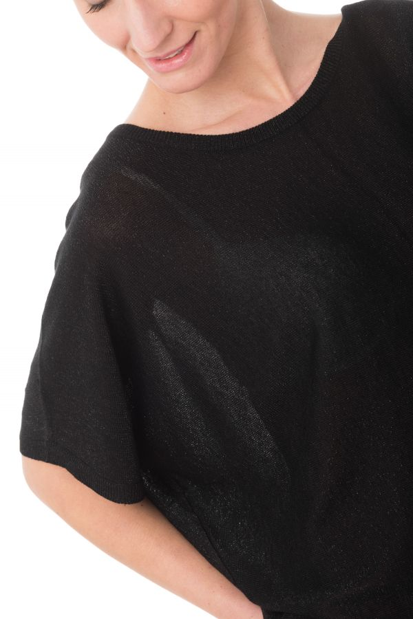 Tee Shirt Femme Kaporal FILOU BLACK