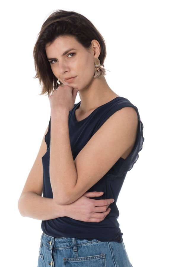 Tee Shirt Femme Le Temps Des Cerises TSHIRT LULLI MIDNIGHT