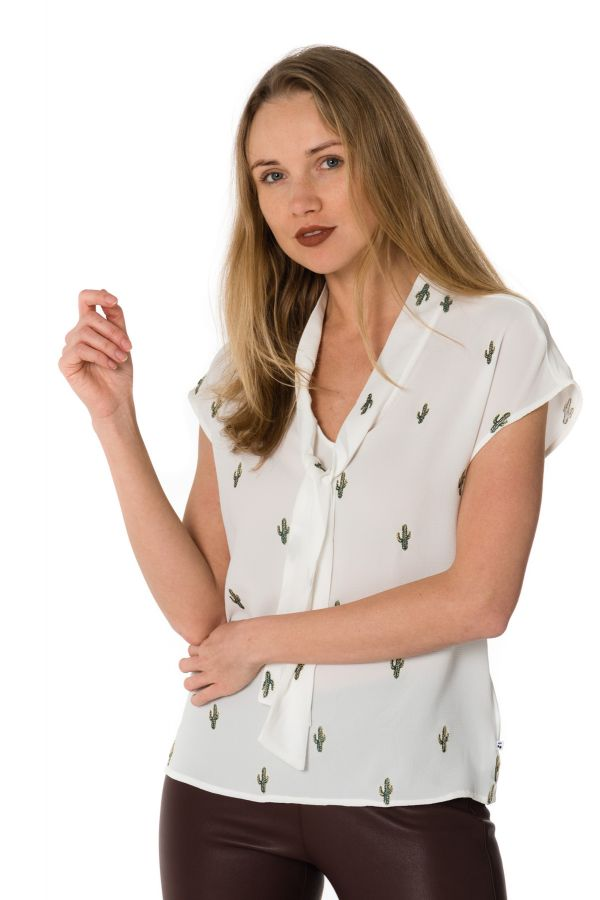 Tee Shirt Femme Le Temps Des Cerises TOP AGAVE ICE CREAM