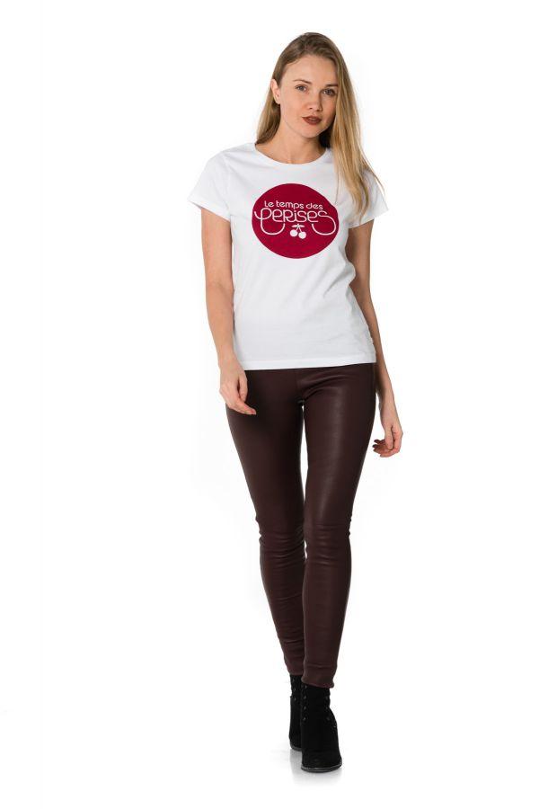 Tee Shirt Femme Le temps des Cerises TSHIRT RED LOGO ICE CREAM