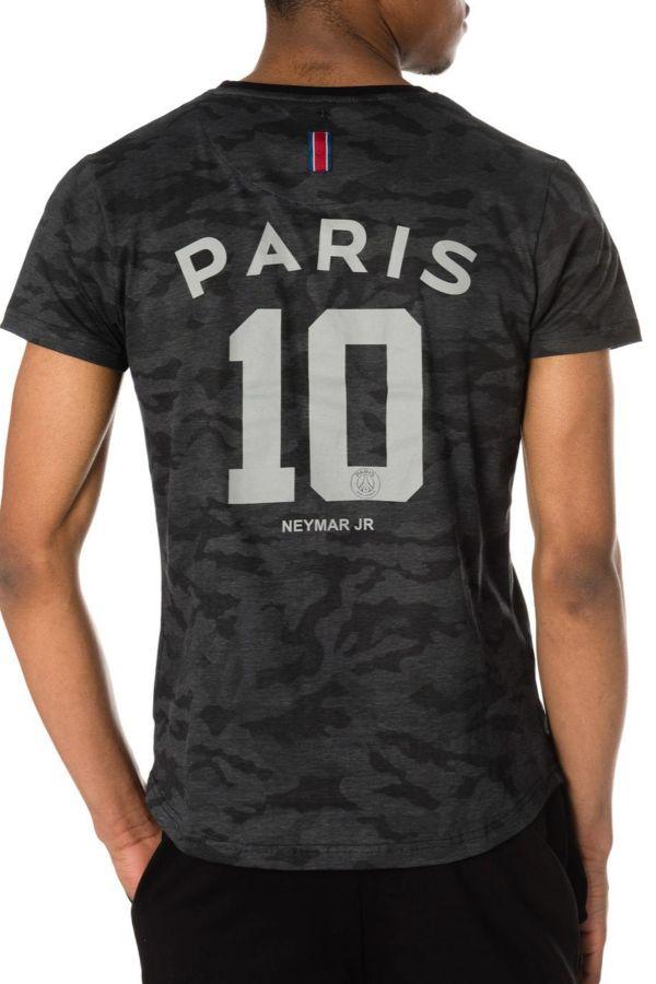 Tee Shirt Enfant Paris Saint Germain T-SHIRT D NAHIL JUNIOR NOIR NEYMAR