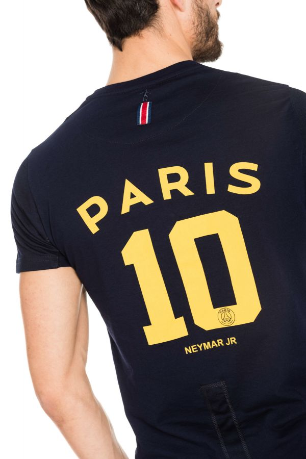 Tee Shirt Homme Paris Saint Germain T-SHIRT D NEYMAR BLEU